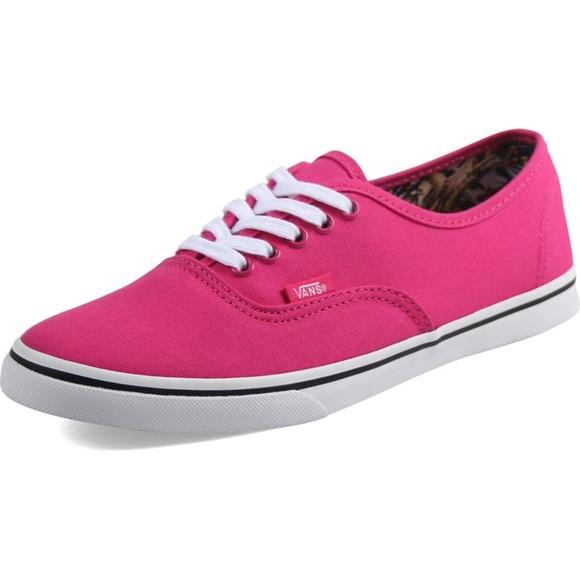 pink lo pro vans